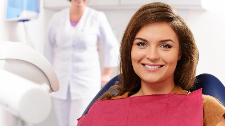 Woman at dentist | Fort Lauderdale